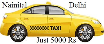 nainital to delhi taxi